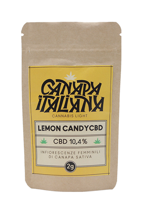 Canapa Italiana Lemon Candy CBD 2g