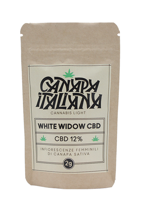 Canapa Italiana White Widow CBD 2g